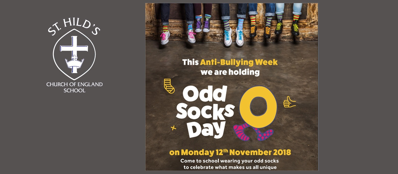 Supporting image for Odd Socks Day for Anti-Bullying Week