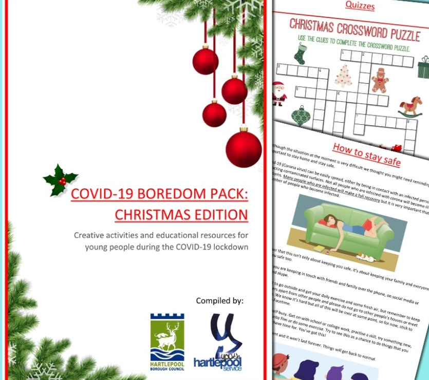 Image for COVID-19 BOREDOM PACK: CHRISTMAS EDITION