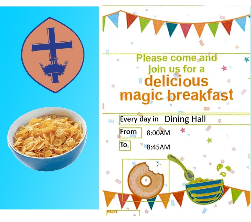 Image for Free Breakfast for Pupils