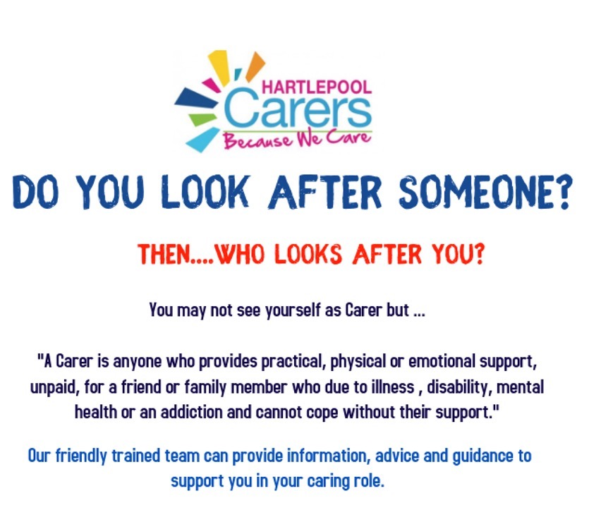 Image for Hartlepool Carers Letter and Registration