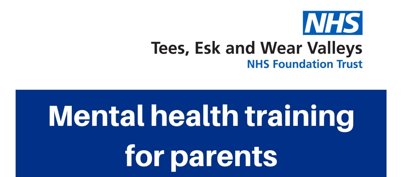 Supporting image for Mental Health Training for parents