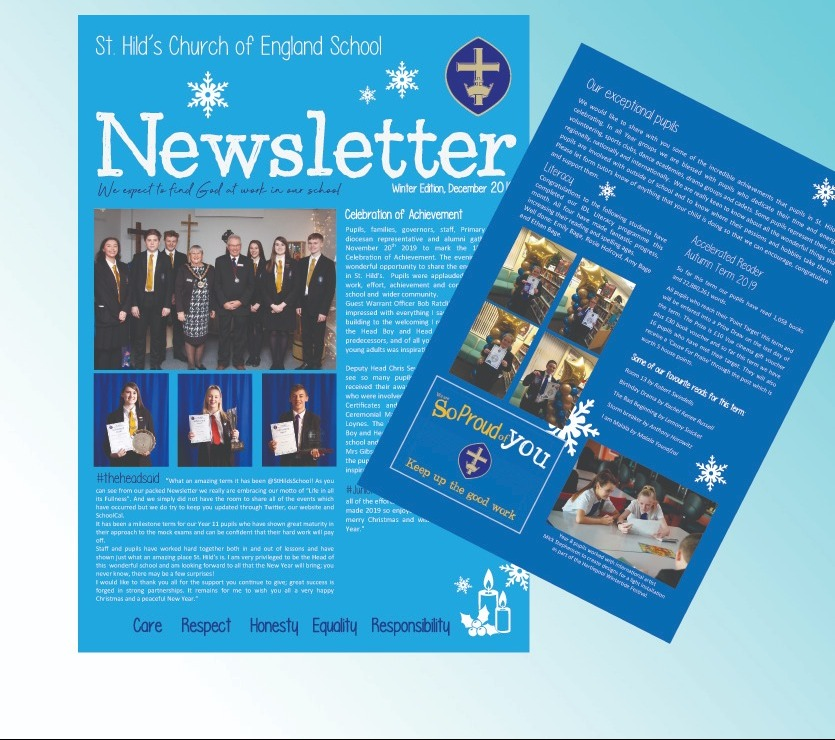 Image for Winter Edition of St. Hild's Newsletter