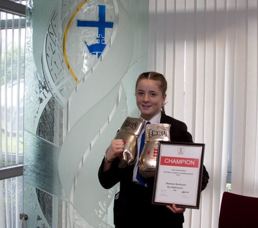 Image for Boxing Success for St. Hild's pupil Shannon!