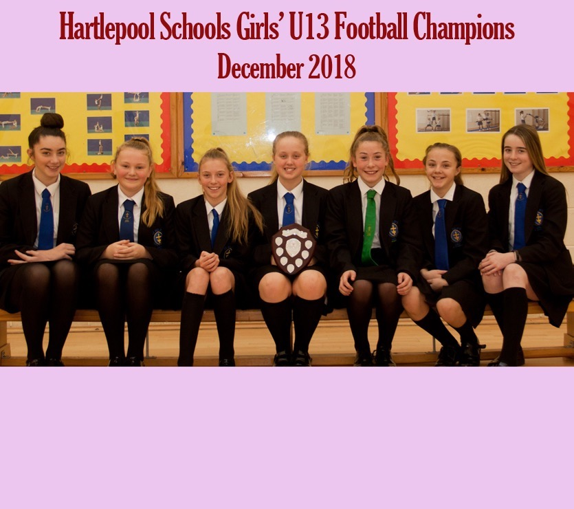 Image for U13 Girls' Football Tournament Champs